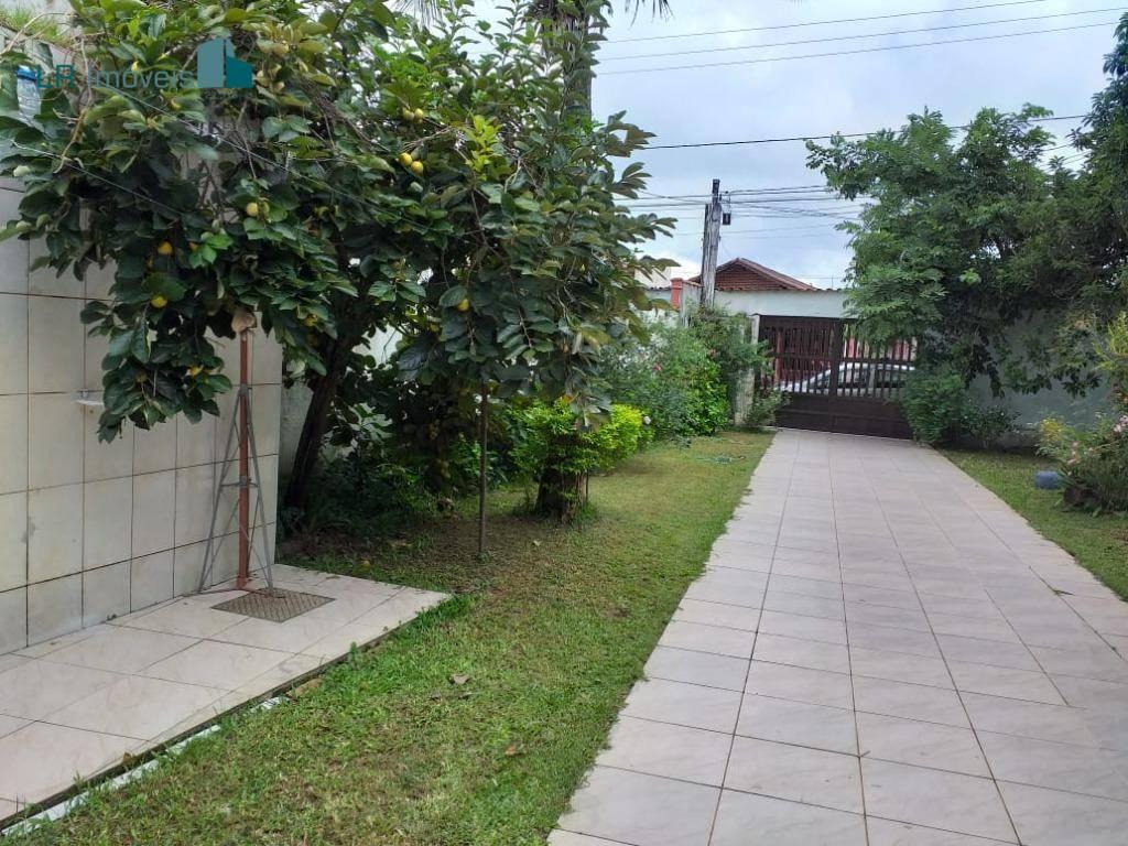 Casa com 1 dormitório à venda, 100 m² por R$ 250.000 - Vila Mirim - Praia Grande/SP