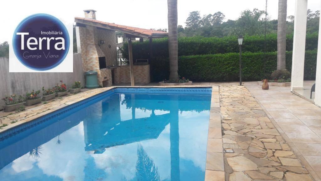 Casa com 3 dormitórios para alugar, 280 m² por R$ 4.500/mês - Parque das Artes - Granja Viana