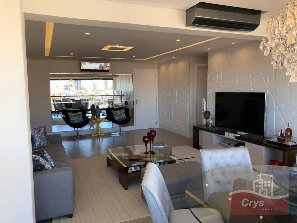 Apartamento com 3 dormitórios à venda, 140 m² por R$ 1.480.000 - Santana - São Paulo/SP