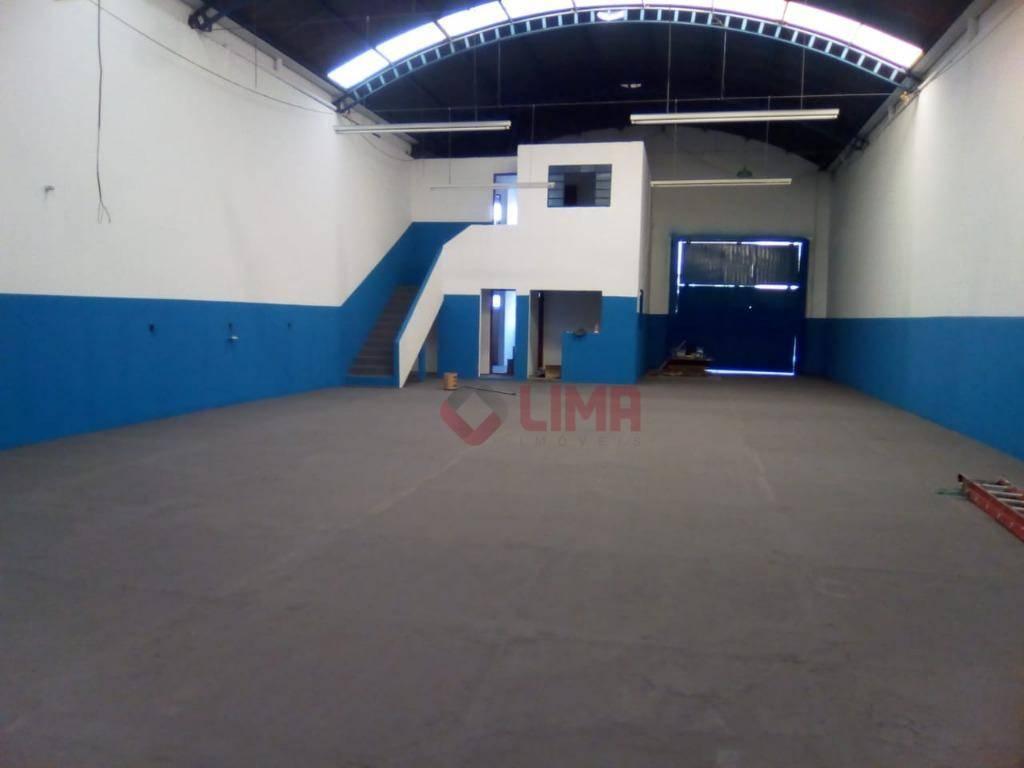 Barracão comercial para venda e  locação, JD. Petrópolis