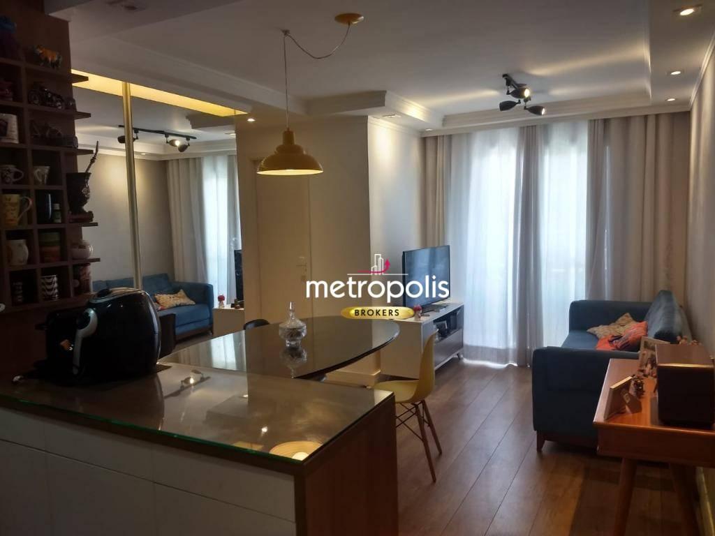Apartamento com 2 dormitórios à venda, 47 m² por R$ 270.000 - Vila Gonçalves - São Bernardo do Campo/SP