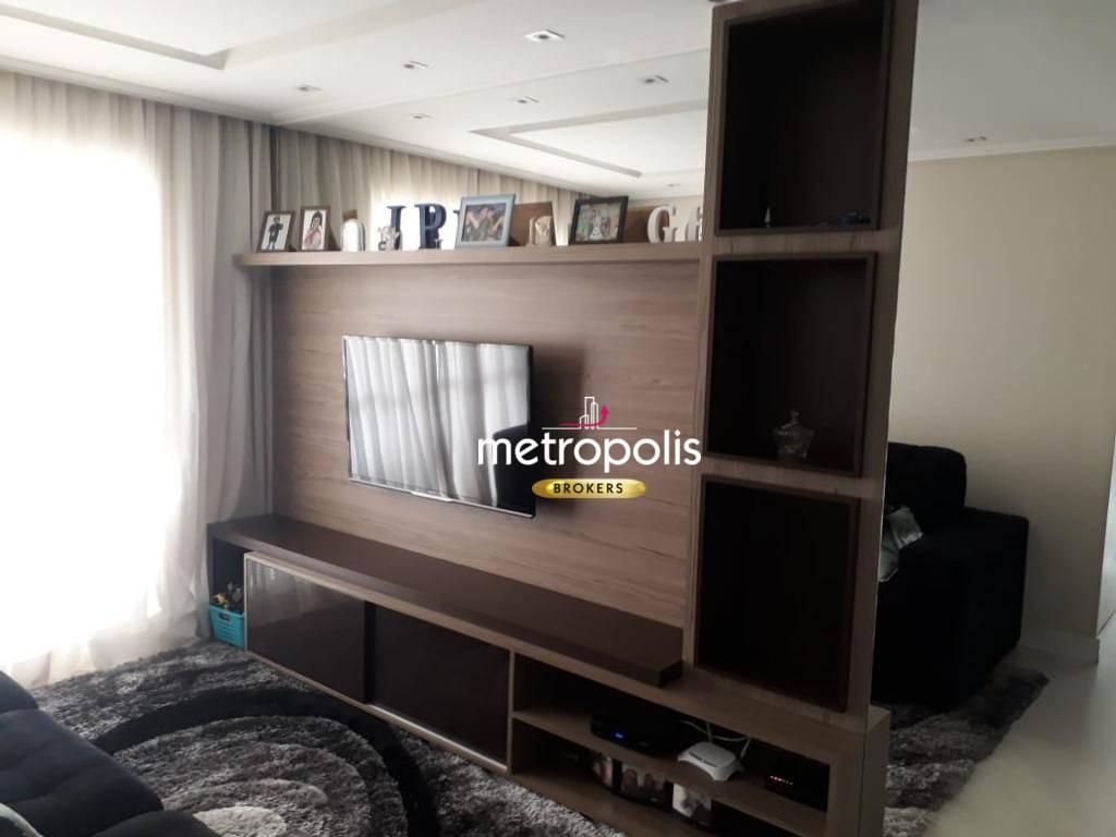 Apartamento com 2 dormitórios à venda, 70 m² por R$ 490.000 - Vila Lusitânia - São Bernardo do Campo/SP