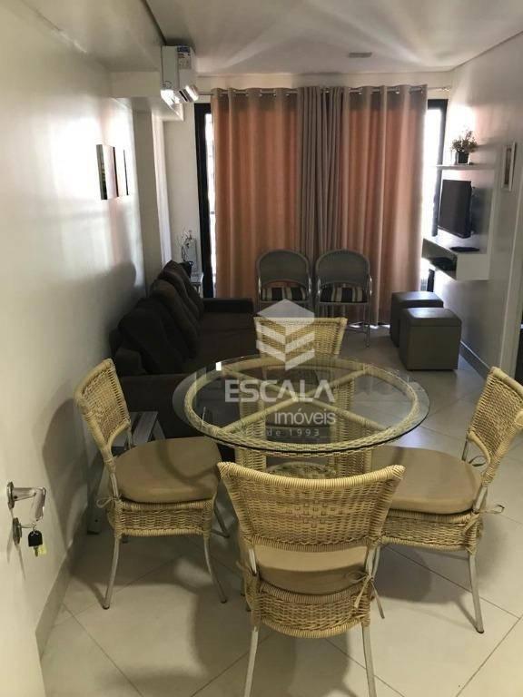 Apartamento para alugar, 40 m² por R$ 3.500,00/mês - Meireles - Fortaleza/CE