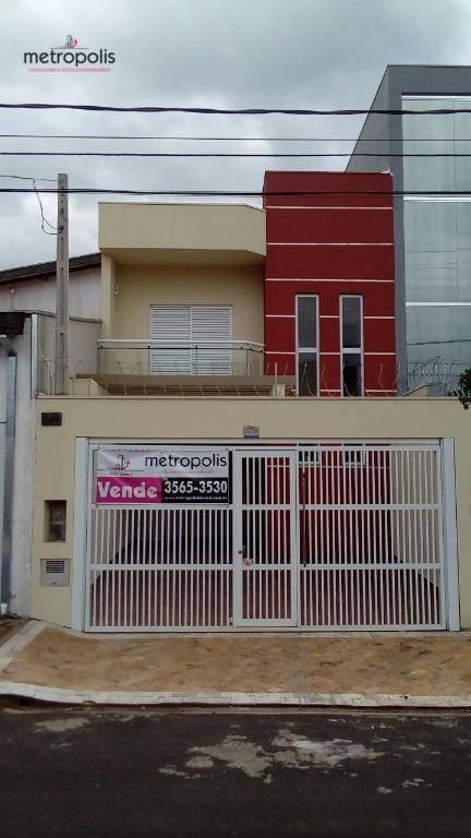 Sobrado residencial à venda, Jardim Nossa Senhora de Fátima, Nova Odessa - SO0049.