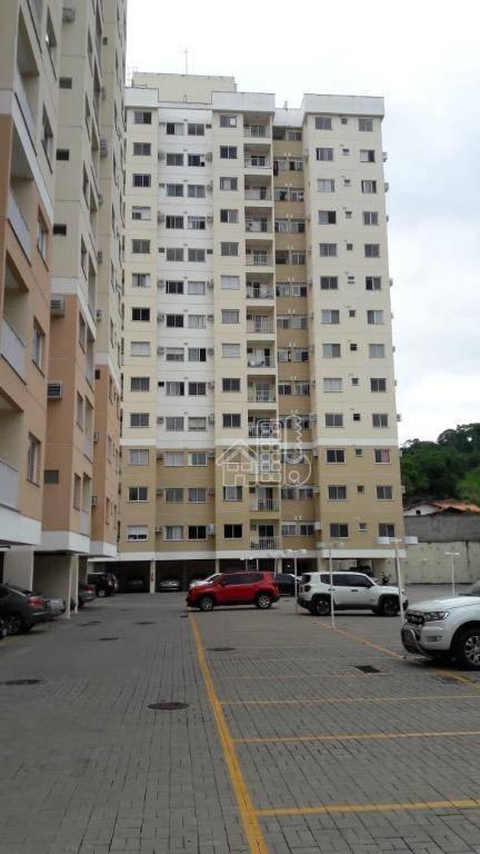 Apartamento com 3 dormitórios à venda, 70 m² por R$ 280.000,00 - Maria Paula - São Gonçalo/RJ