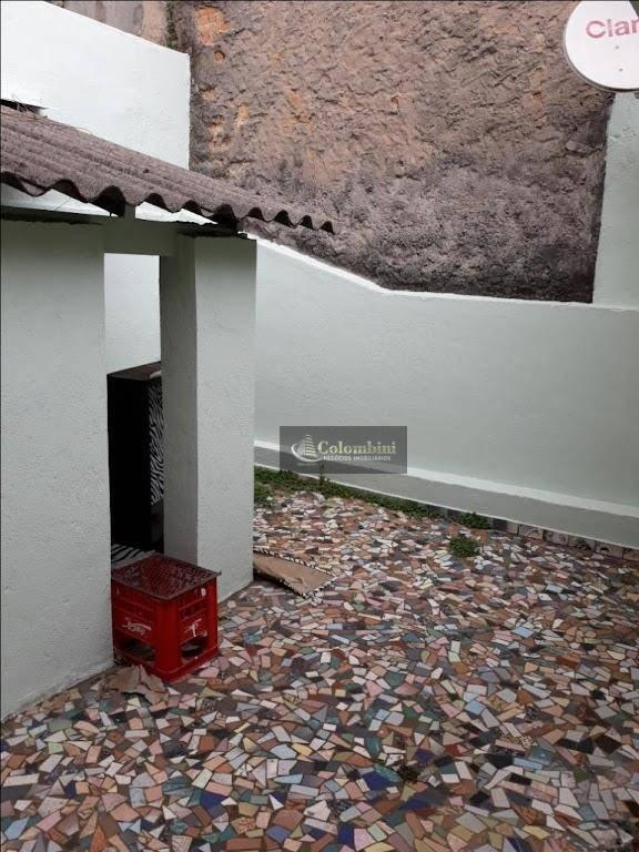 Casa residencial para locação, Vila Aquilino, Santo André.