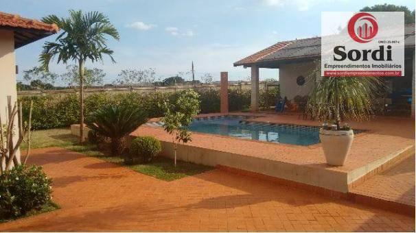Chácara residencial à venda, Condomínio Quinta da Boa Vista, Ribeirão Preto.