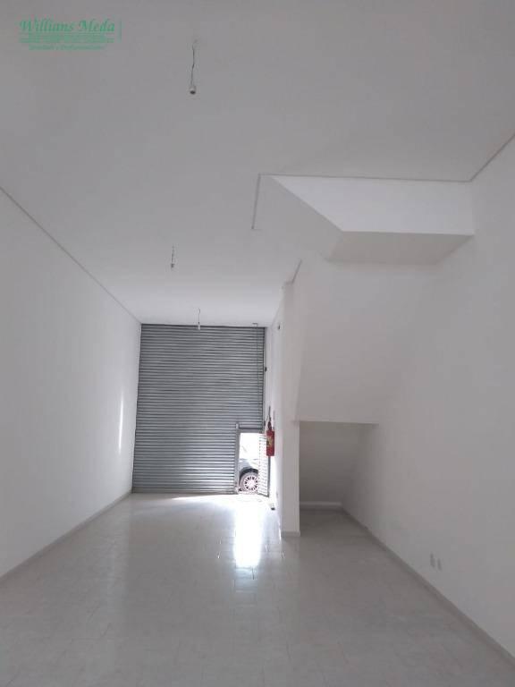 Salão para alugar, 82 m² por R$ 3.300/mês - Vila Augusta - Guarulhos/SP
