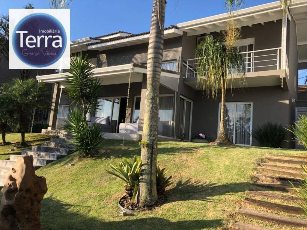 Casa com 4 dormitórios à venda e locação, 410 m² por R$ 1.800.000 - Parque das Artes - Granja Viana