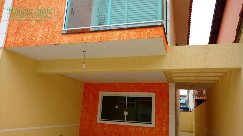 Sobrado residencial à venda, Vila Moreira, Guarulhos.