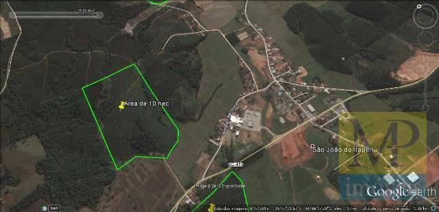 Área à venda, Centro, São João do Itaperiú.