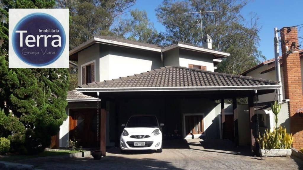 Casa com 3 dormitórios à venda, 170 m² por R$ 950.000 - Granja Viana II - Granja Viana