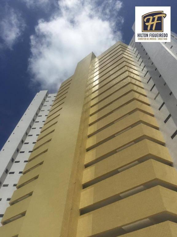 Apartamento para alugar, 100 m² por R$ 1.500,00/mês - Bessa - João Pessoa/PB