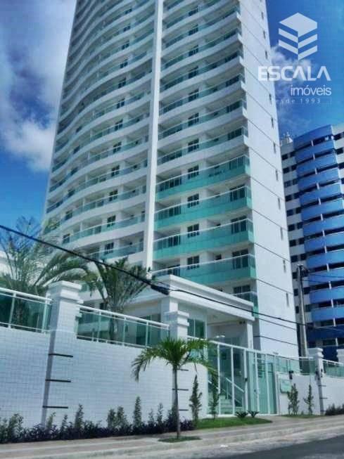 Apartamento com 3 quartos à venda no  Luciano Cavalcante, nascente, 2 suítes, novo, lazer completo, Financia