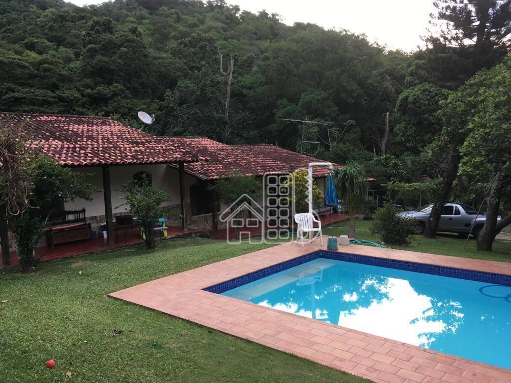 Chácara à venda, 1800 m² por R$ 1.250.000 - Engenho do Mato - Niterói/RJ