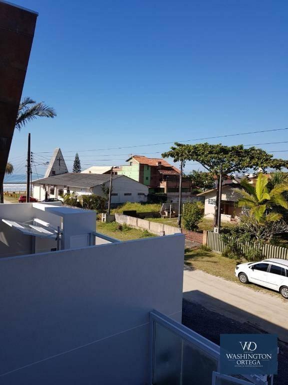 Sobrado com 3 dormitórios à venda, 117 m² por R$ 425.000 - Balneário Paese - Itapoá/SC