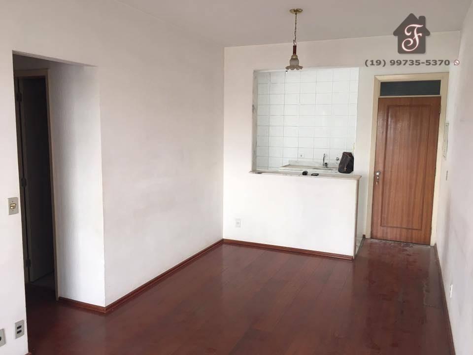 Apartamento de 2 quartos sendo 1 com suíte, cozinha americana, andar alto no Condomínio Edifício Ilha Di Corsega em Campinas SP