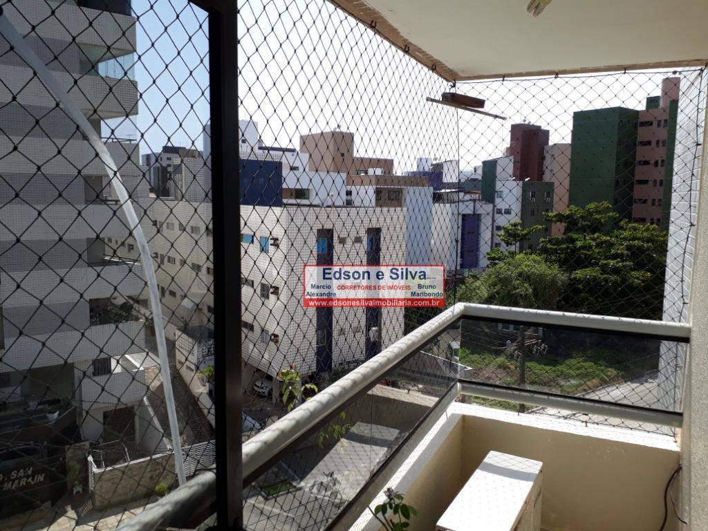 Apartamento com 4 dormitórios à venda, 155 m² - Intermares - Cabedelo/PB