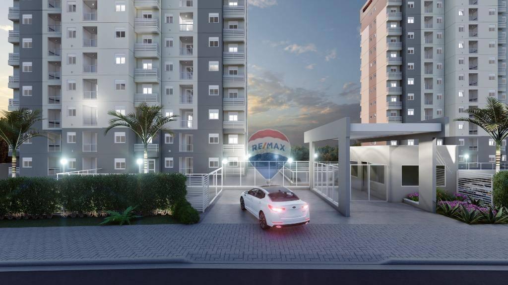 Apartamento com 2 dormitórios à venda, 44 m² por R$ 165.830 - Esplanada do Carmo - Jarinu/SP