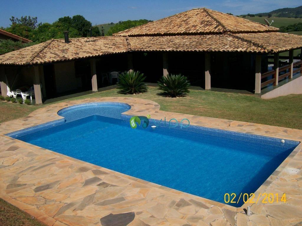 Itatiba  - Chácara à venda 2 dormitorios com 1 suite - Piscina - churrasqueira e Salão de festas