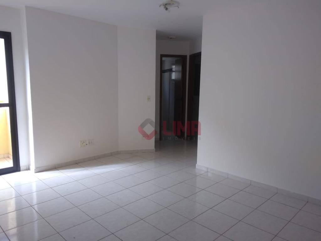 Apartamento com 2 dormitórios para alugar, 70 m² por R$ 800/mês - Jardim Infante Dom Henrique - Bauru/SP