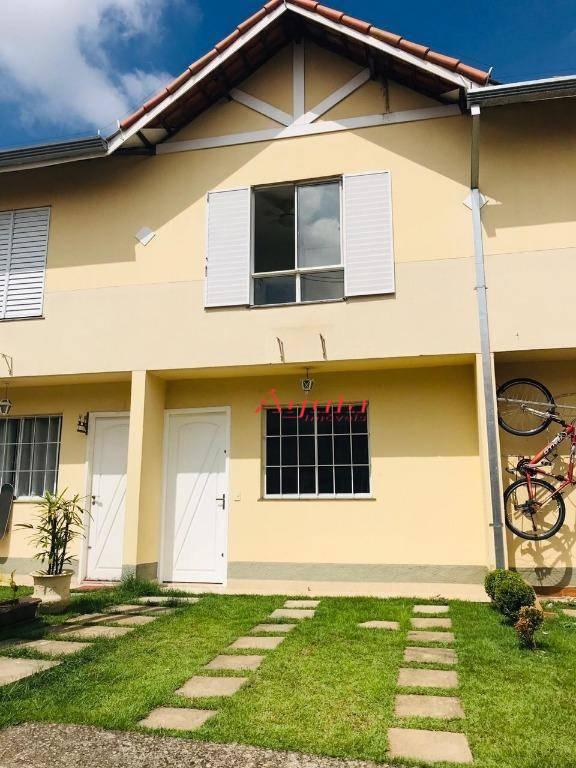 Sobrado com 2 dormitórios à venda, 63 m² por R$ 330.000 - Vila Homero Thon - Santo André/SP