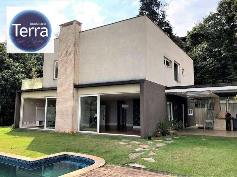 Casa com 4 dormitórios à venda, 493 m² por R$ 2.500.000 - Pousada dos Bandeirantes - Granja Viana