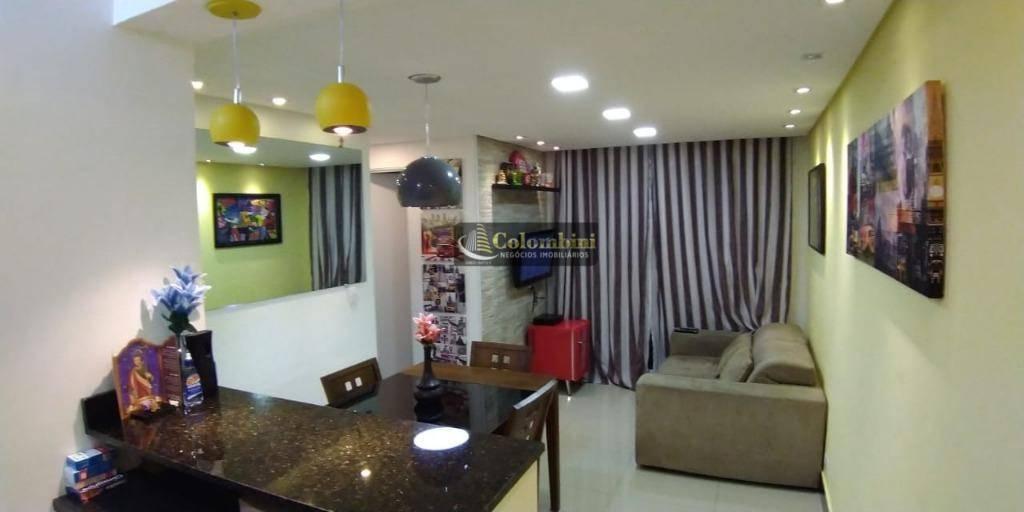 Apartamento com 2 dormitórios para alugar, 48 m² - Vila Santa Luzia - São Bernardo do Campo/SP