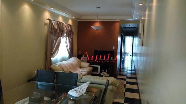 Cobertura com 3 dormitórios à venda, 90 m² por R$ 550.000 - Vila Curuçá - Santo André/SP