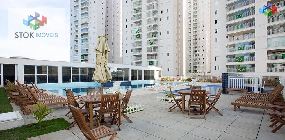 Supera Guarulhos 3 suítes 128m²