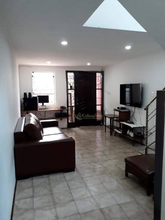 Sobrado residencial 120 m2 - 3 dormitórios - 3 vagas à venda, Conjunto Residencial Jussara, São Bernardo do Campo.