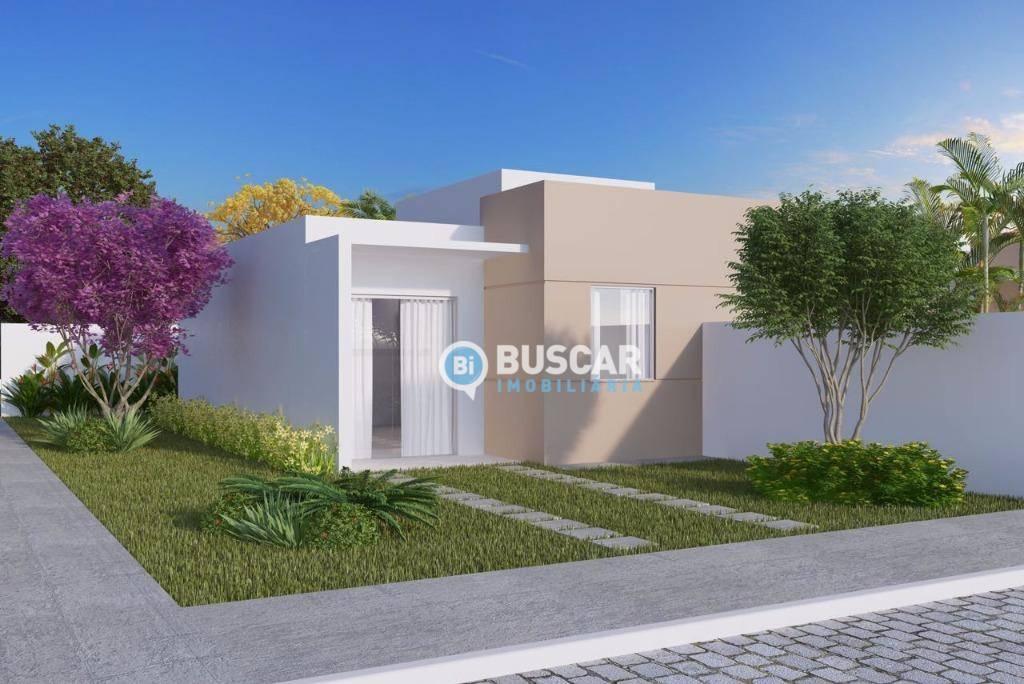 Casa com 2 dormitórios à venda, 50 m² por R$ 135.000,00 - Tomba - Feira de Santana/BA