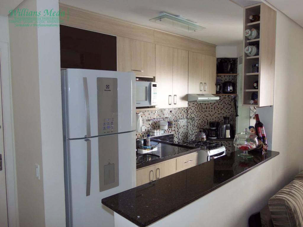 Apartamento residencial à venda, 2 dormitórios, 1 vaga. Vila