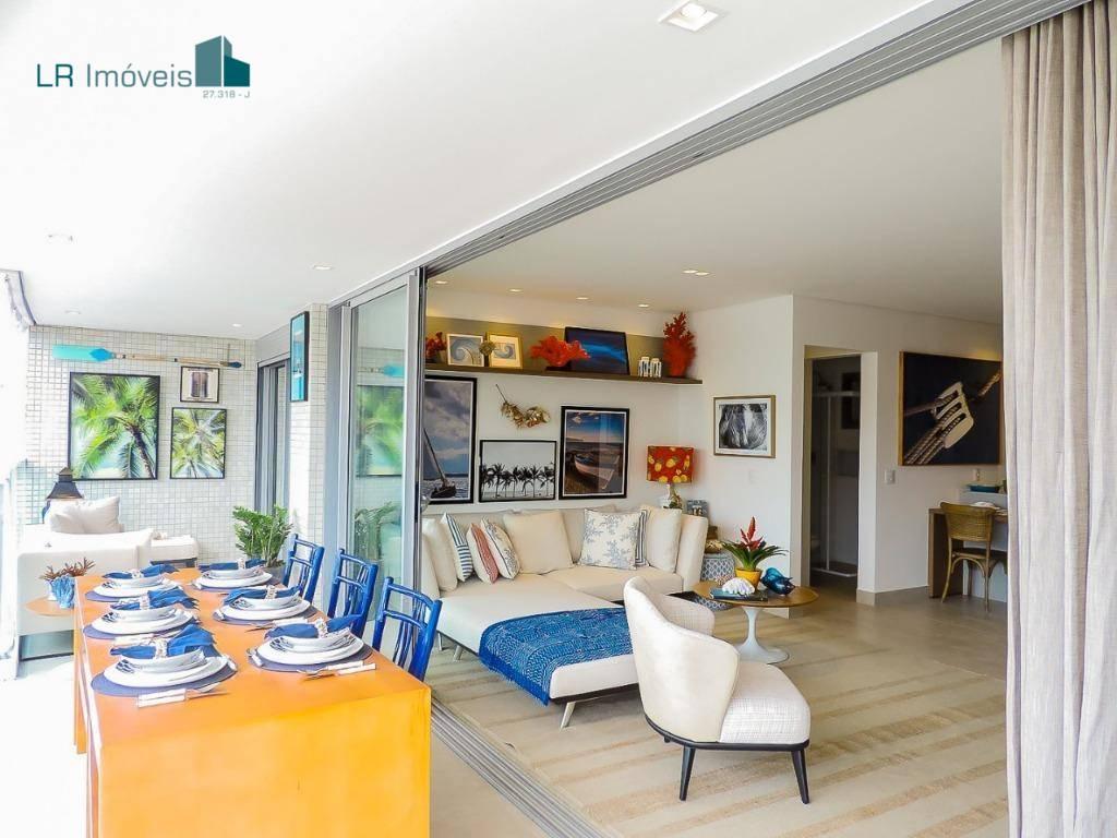 Apartamento à venda, 105 m² por R$ 1.472.000,00 - Riviera de São Lourenço - Bertioga/SP