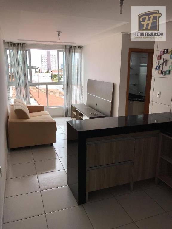 Apartamento com 2 dormitórios para alugar por R$ 1.300,00/mês - Bessa - João Pessoa/PB