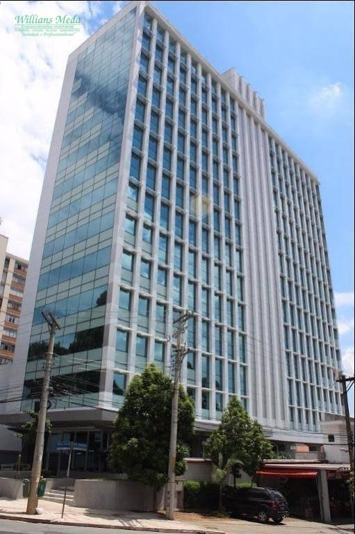 Sala comercial para locação, Higienópolis, São Paulo - SA0116.