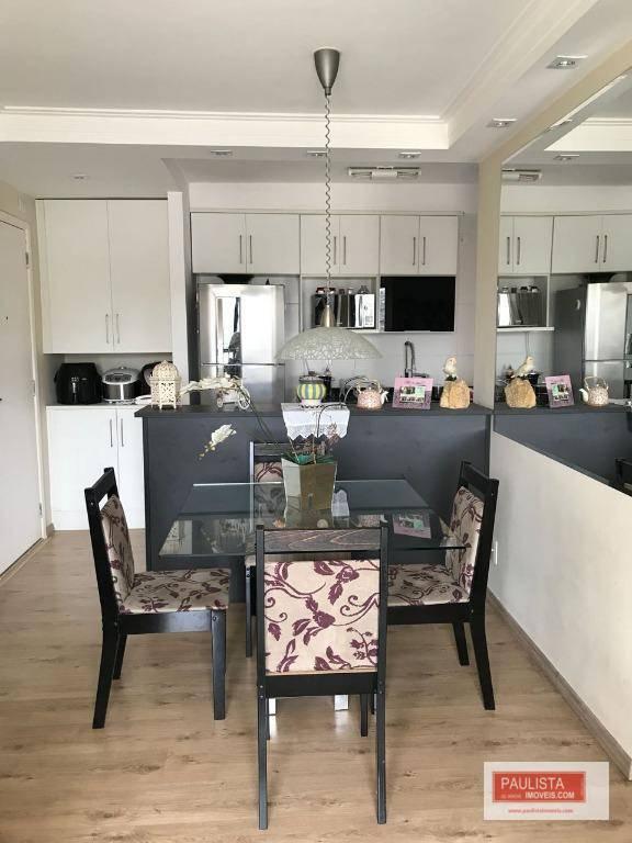 Apartamento com 3 dormitórios à venda, 67 m²  - Jardim Marajoara - São Paulo/SP