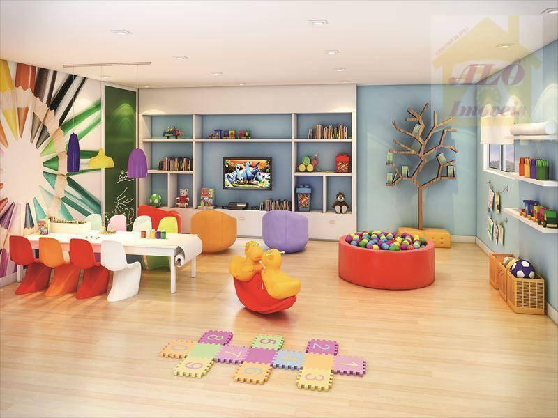 Apartamento à venda, 83 m² por R$ 400.000,00 - Vila Caiçara - Praia Grande/SP