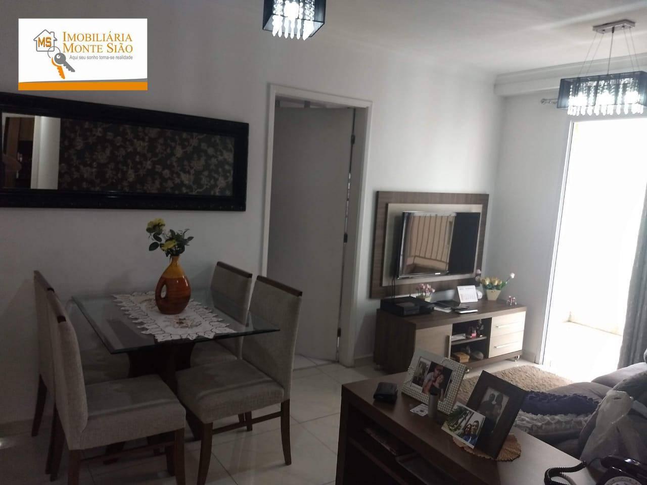 Apartamento com 2 dormitórios à venda, 61 m² por R$ 307.000,00 - Macedo - Guarulhos/SP
