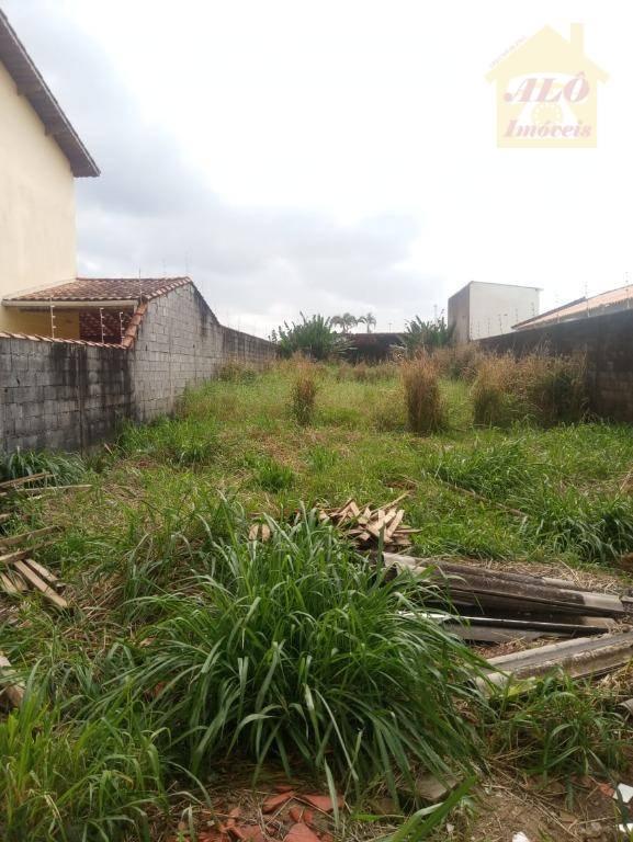 Terreno à venda, 380 m² por R$ 250.000 - Solemar - Praia Grande/SP