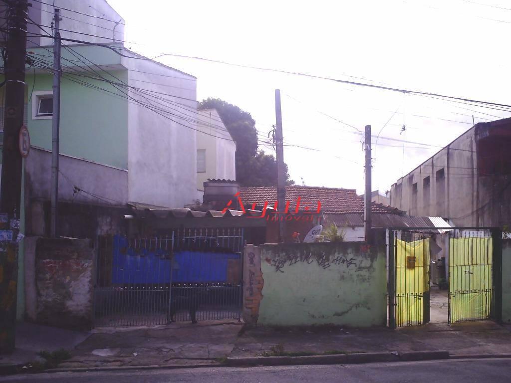 Terreno  residencial à venda, Parque Oratório, Santo André.