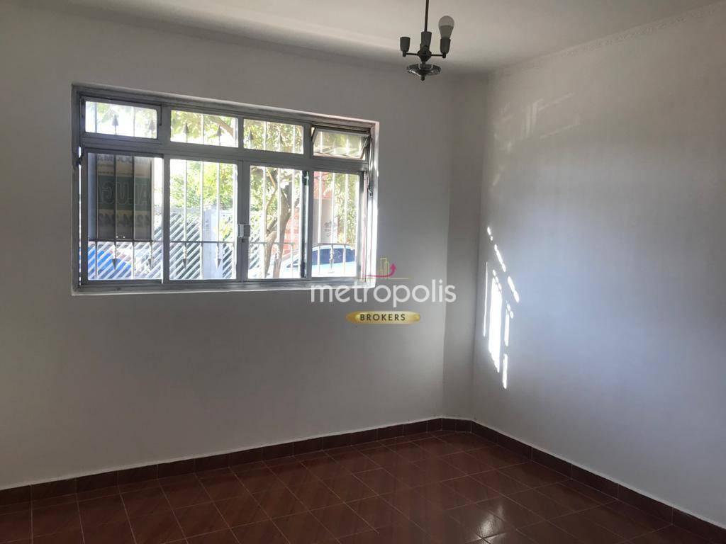 Sobrado com 3 dormitórios para alugar, 127 m² por R$ 2.200,00/mês - Cerâmica - São Caetano do Sul/SP
