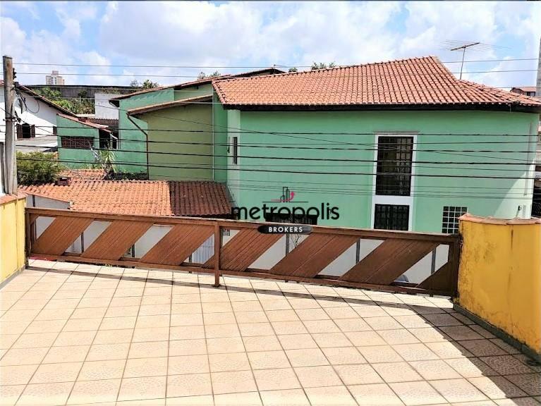 Sobrado residencial para venda e locação, Parque Erasmo Assunção, Santo André.
