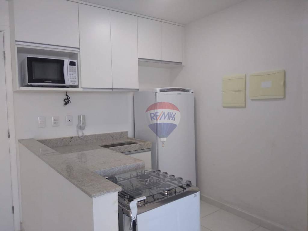 Flat com 1 dormitório para alugar, 38 m² por R$ 2.000,00/mês - Candeias - Jaboatão dos Guararapes/PE