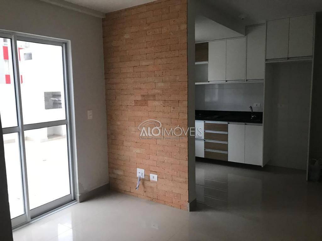 Apartamento com 1 dormitório para alugar, 34 m² por R$ 1.200/mês - Portão - Curitiba/PR