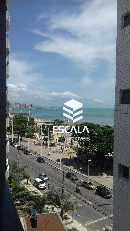 Apartamento com 2 quartos à venda, 85 m² , vista mar, na av. beira mar - Mucuripe - Fortaleza/CE