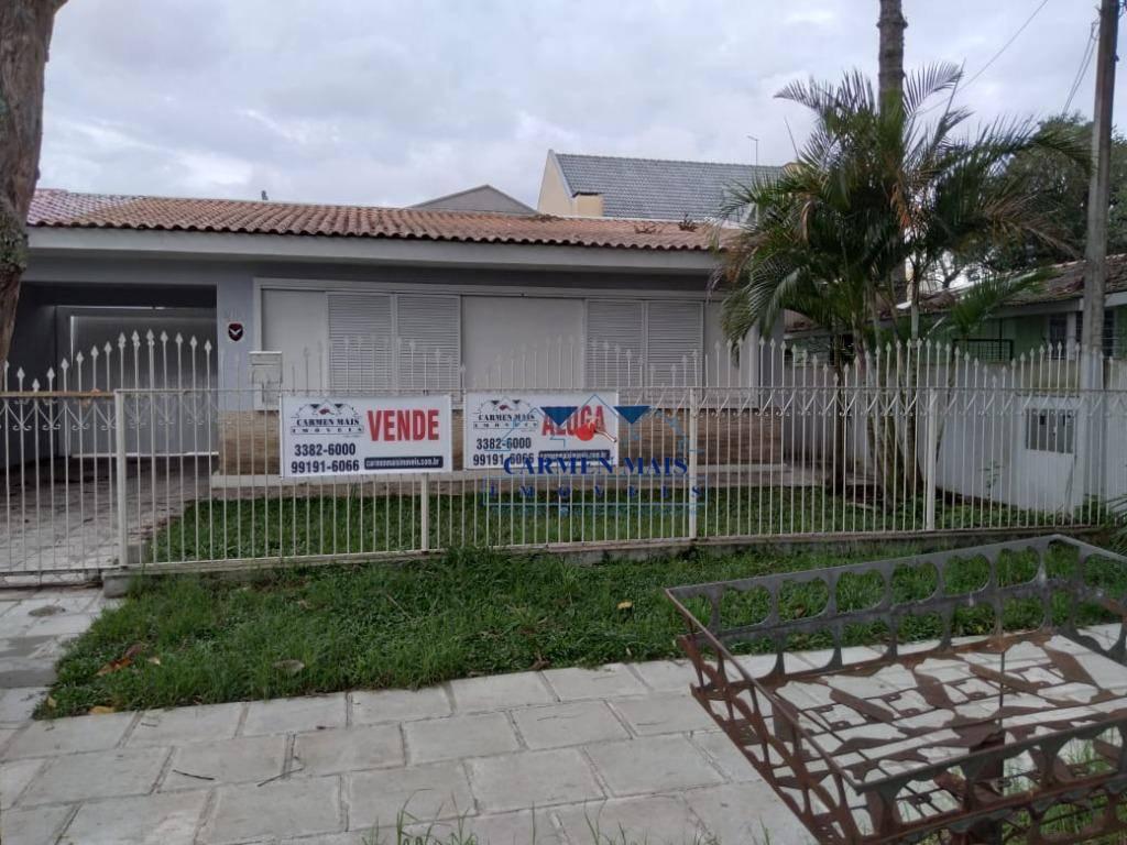 Casa com 3 dormitórios, 200 m² - venda por R$ 1.000.000,00 ou aluguel por R$ 3.000,00/mês - Centro - São José dos Pinhais/PR