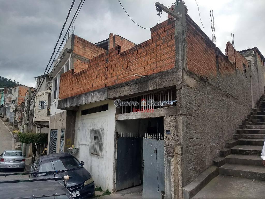 Sobrado residencial à venda, Parque Primavera, Guarulhos.