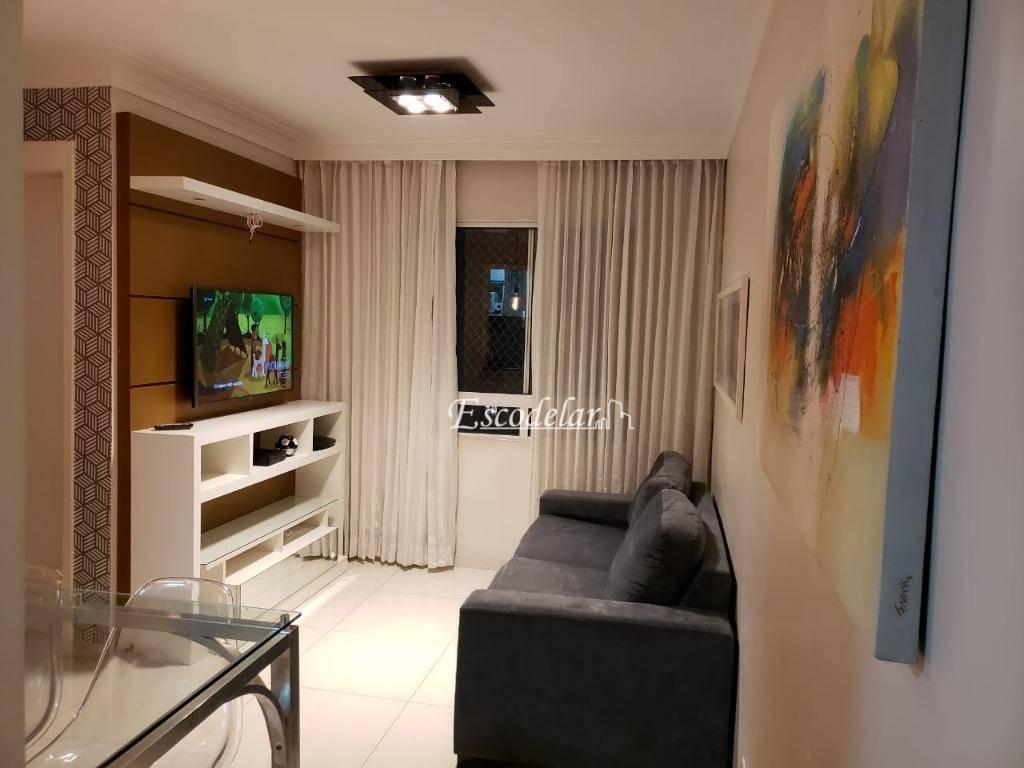 Apartamento com 2 dormitórios à venda, 50 m² por R$ 230.000,00 - Ponte Grande - Guarulhos/SP