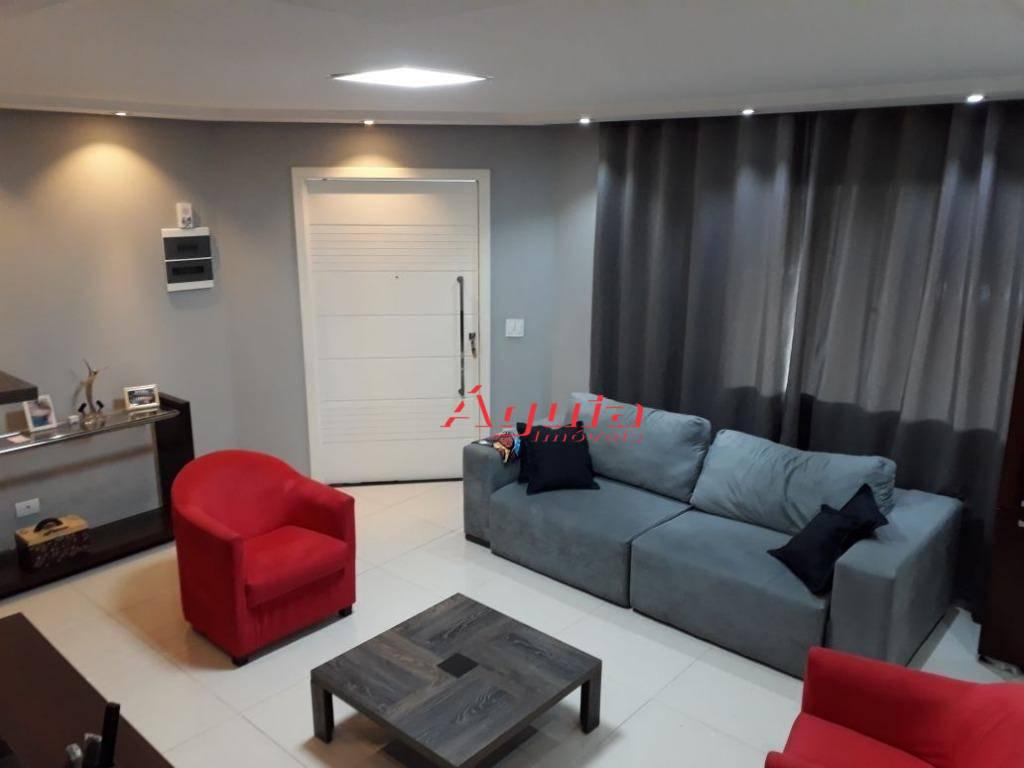 Sobrado residencial à venda, Jardim Alvorada, Santo André.